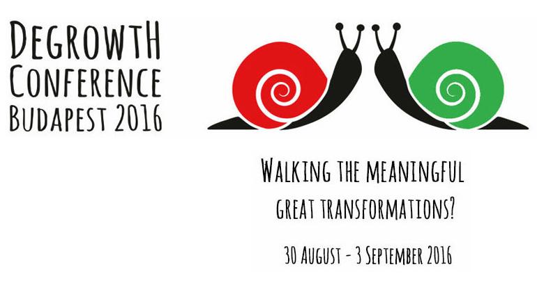 Peta međunarodna konferencija o odrastu, Budimpešta 2016.