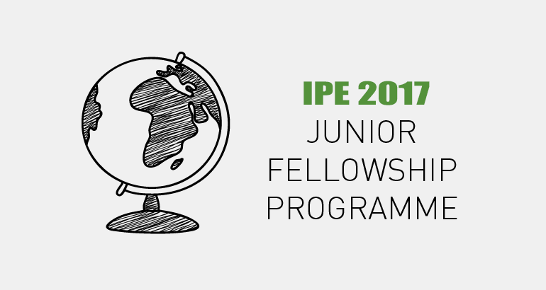 Call for junior fellowship in 2017