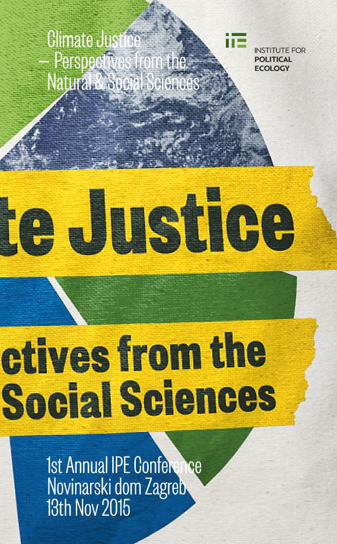 CLIMATE JUSTICE – PERSPECTIVES FROM THE NATURAL & SOCIAL SCIENCES - programska knjižica / book of abstracts