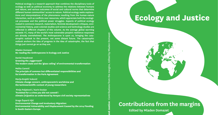 """E-knjiga """"Ecology and Justice"""""""