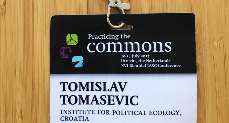Tomislav Tomašević at the IASC 2017 Conference