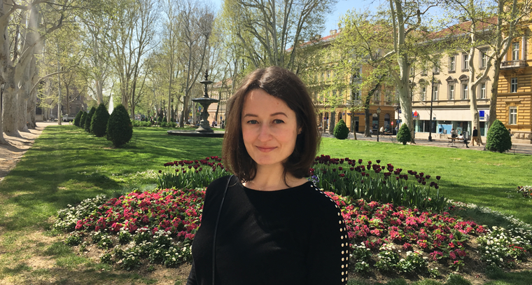 Introducing Oxana Lopatina, IPE's 2018 Junior Research Fellow!