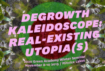 Call for participation in the Green Academy Winter Seminar!