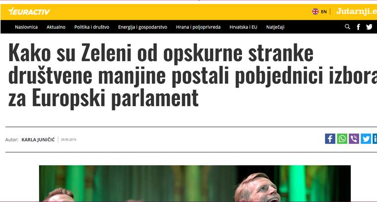 "<a href=""https://euractiv.jutarnji.hr/euizbori2019/kako-su-zeleni-od-opskurne-stranke-drustvene-manjine-postali-pobjednici-izbora-za-europski-parlament/8938613/"" target=""_blank"" rel=""noopener noreferrer"">Vedran Horvat o uspjehu Zelenih na izborima za EU parlament | Euractiv Jutarnji.eu, 29.5.2019.</a>"