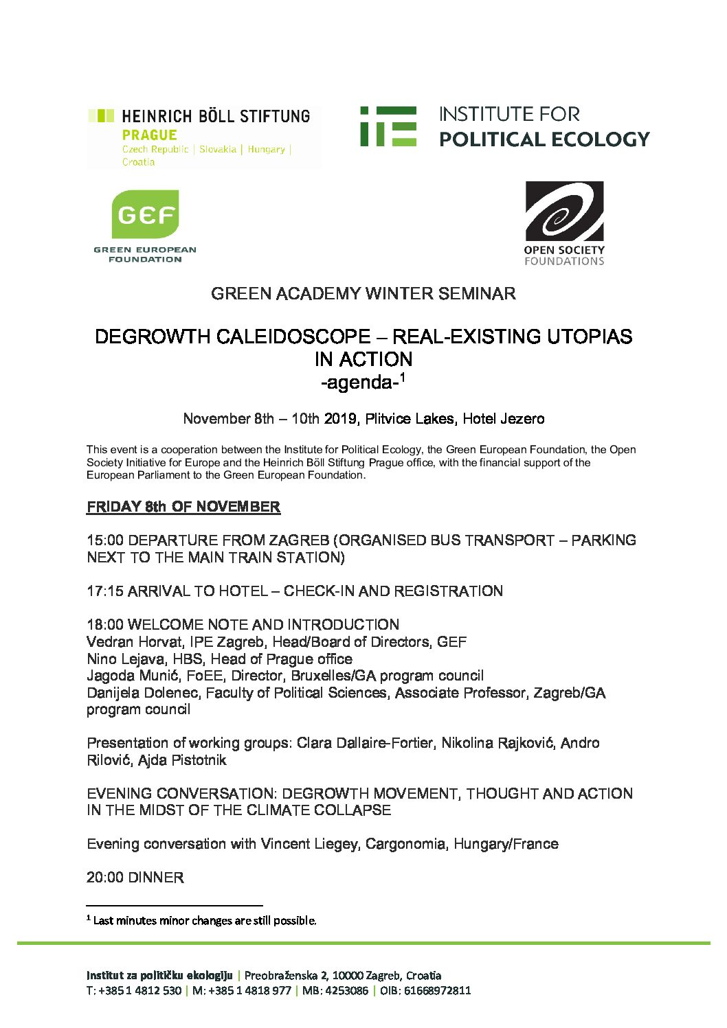 ga degrowth seminar