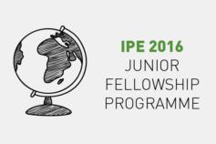 IPE 2016 Junior Fellowship Programme