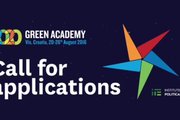 Green Academy 2020: Tipping Points