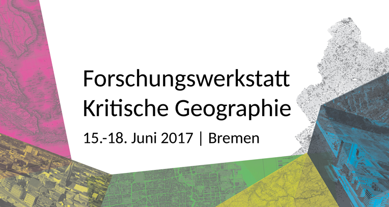Lilian's report from the Research Workshop for Critical Geography 2017