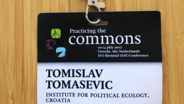 Tomislav Tomašević na konferenciji Međunarodnog udruženja za proučavanje zajedničkih dobara (IASC)