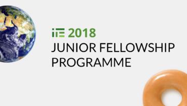 Poziv za prijave: 2018 IPE Junior Fellowship