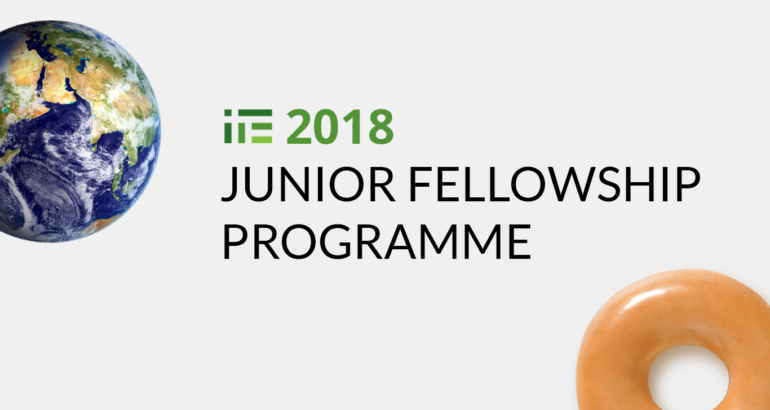 Call for Applications: 2018 IPE Junior Fellowship