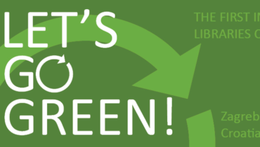 Lets Go Green! - 1st International Conference on Green Libraries