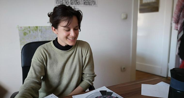 Meet our 2019 JRF - Clara Léa Dallaire-Fortier!