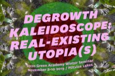 Program zimskog seminara Zelene Akademije